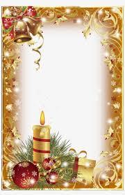 Marcos De Navidad Vertical Christmas Photo Frame Psd Free