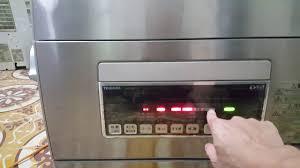 Hướng dẫn sử dụng cơ bản chiếc máy rửa bát Toshiba DWS-60X7 trước ...
