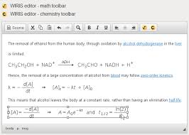 chemistry toolbar