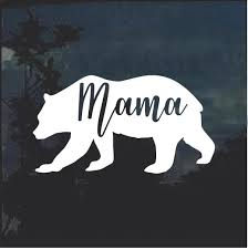 Mama Bear Car Window Decal Sticker Custom Sticker Shop