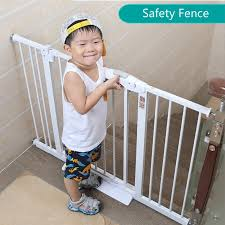 Staircase Fence Child Safety Door Baby Gate Fence Pet Isolation Dog Fence Rail Free Punching Installation Baby Safety Fence Gates Doorways Aliexpress