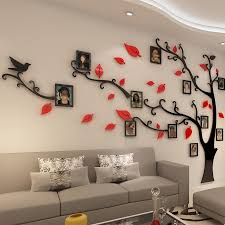 Wall Stickers Tree Photo Frame Sticker Diy Mirror Wall Decal Home Decoration Living Room Bedroom Poster Tv Background Decor Stickers For Wall Decor Stickers For Wall Decoration From Mudanflower 27 75 Dhgate Com