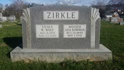 Ada Bowman Zirkle (1880-1941) - Find A Grave Memorial