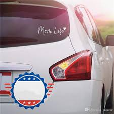 2020 Mom Life Car Decal 7 9 Cute Bumper Sticker For Your Car Home Walls From Eforcar 5 93 Dhgate Com