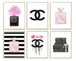 chanel chanel print coco chanel wall