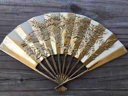 Large Solid Brass Flying Dragon Fans Asian Decor Chinese Etsy