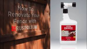 How To Video Stain Faded Wood Fencing With Rust Oleum Renovator Fence Stain Youtube