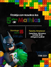 Pizarra Fiesta De Cumpleanos Batman Invitaciones De Batman