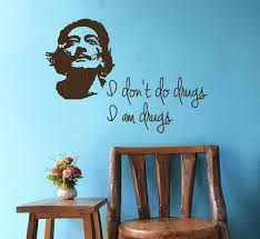 Wall Decal Salvador Dali Portrait Of Dali Quote I Don T Do Etsy