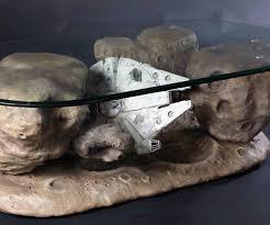 millennium falcon asteroid coffee table