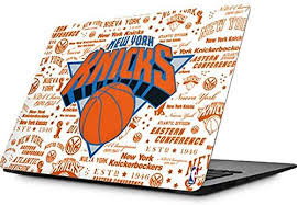 Amazon Com Skinit Decal Laptop Skin Compatible With Macbook Air 13 3 2010 2017 Officially Licensed Nba Ny Knicks Historic Blast Design Electronics