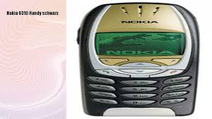Nokia 6310 Handy schwarz - video ...