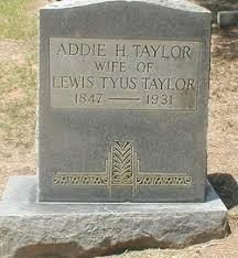 Sarah Addie Howard Taylor (1847-1931) - Find A Grave Memorial