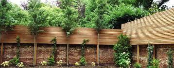 Cedar Fence Panels Natural Slatted Fence Panels Essex Uk The Garden Trellis Company