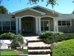 ranch style homes front porch