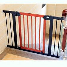 Amazon Com Huo Baby Wood Isolation Door Indoor Stair Barrier Gates Child Safety Fence Size 76 83cm Home Kitchen
