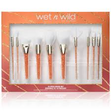 10 piece makeup brush set wet n wild