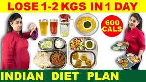 Lose 1 Kg - 2 Kg in 1 Day | Easy Diet Plan to Lose Weight Fast | Indian Diet  Plan by Natasha Mohan - YouTube