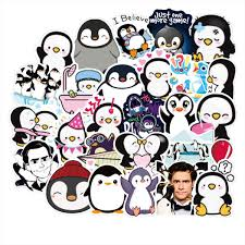 Amazon Com 50pcs Mr Popper S Penguin Waterproof Stickers For Laptop Stickers Motorcycle Bicycle Skateboard Luggage Decal Graffiti Patches Stickers Arts Crafts Sewing