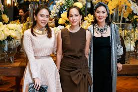Pacharee Debuts New Jewellery Collection In Bangkok With An Exclusive Event  | Tatler Thailand