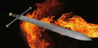 Risultato immagini per spada sforgiata del drago