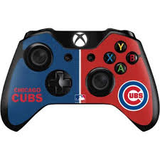 Chicago Cubs Split Xbox One Controller Skin Mlb