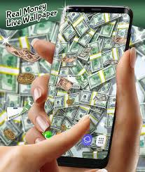 real money live wallpaper for android