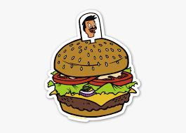 Bob S Burger Sticker Stickers Of Bobs Burgers Free Transparent Clipart Clipartkey