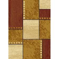 rug city rawhide beige area rug