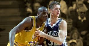 Christian Laettner y Shaquille O'Neal