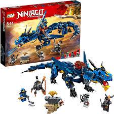 Amazon.com: LEGO Ninjago Stormbringer Dragon Toy, Masters of Spinjitzu  Action Figure: Toys & Games