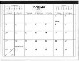 Magnetic Calendar Planner, Monthly ...