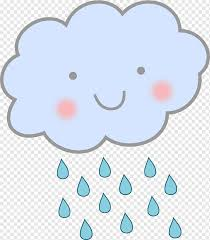 cute cloud s love blue cloud png