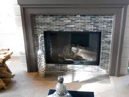 backsplash tile around fireplace