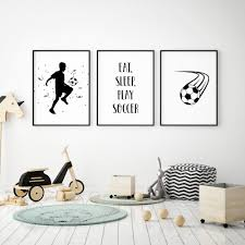 Soccer Wall Art Soccer Prints Digital Download Kids Room Etsy Children Room Boy Boy Decor Soccer Themed Bedroom