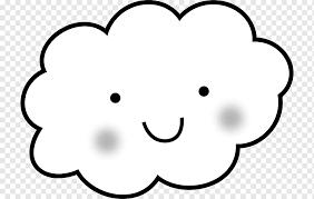 drawing cloud coloring book rain cute
