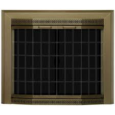 small glass fireplace doors fn 5700