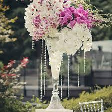 wedding centerpiece glass vase event