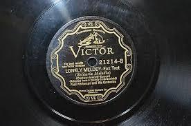 Victor 78 rpm Paul Whiteman Lonely Melody Fox Trot / Ramona Waltz Vintage  Album | eBay