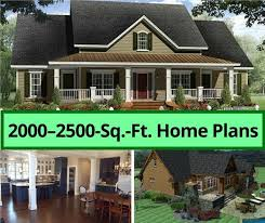 house plans 2000 2500 square feet