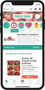 vegetable garden planner mobile app