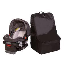 padded backpack car seat travel bag