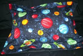 planet bedding full size pillow sham