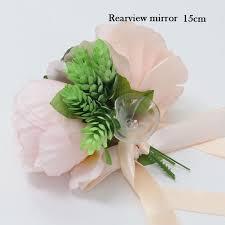 creative wedding car decoration flower