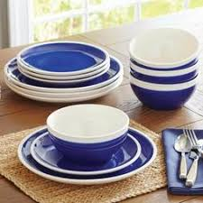 indigo swirl 12 piece dinnerware set