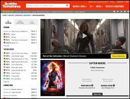 Đến Captain Marvel cũng đau đầu nạn thủy quân, Rotten Tomatoes ...