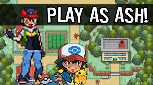 Pokemon Ash Gray - Play as ASH! - YouTube