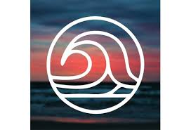 2pcs 4 10cm Wave Sticker Wave Decal For Laptop Car Window Decal Wall Decal Waves Sticker Ocean Decal Sea Decal Surf Wave Decal Beach Car Decal Stickers Wish