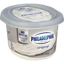 philadelphia cream cheese spread