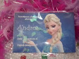 16 Invitaciones Elsa Frozen Con Confetti Metalico 165 00 En Mercado Libre